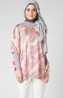Batik atasan muslim untuk kerja