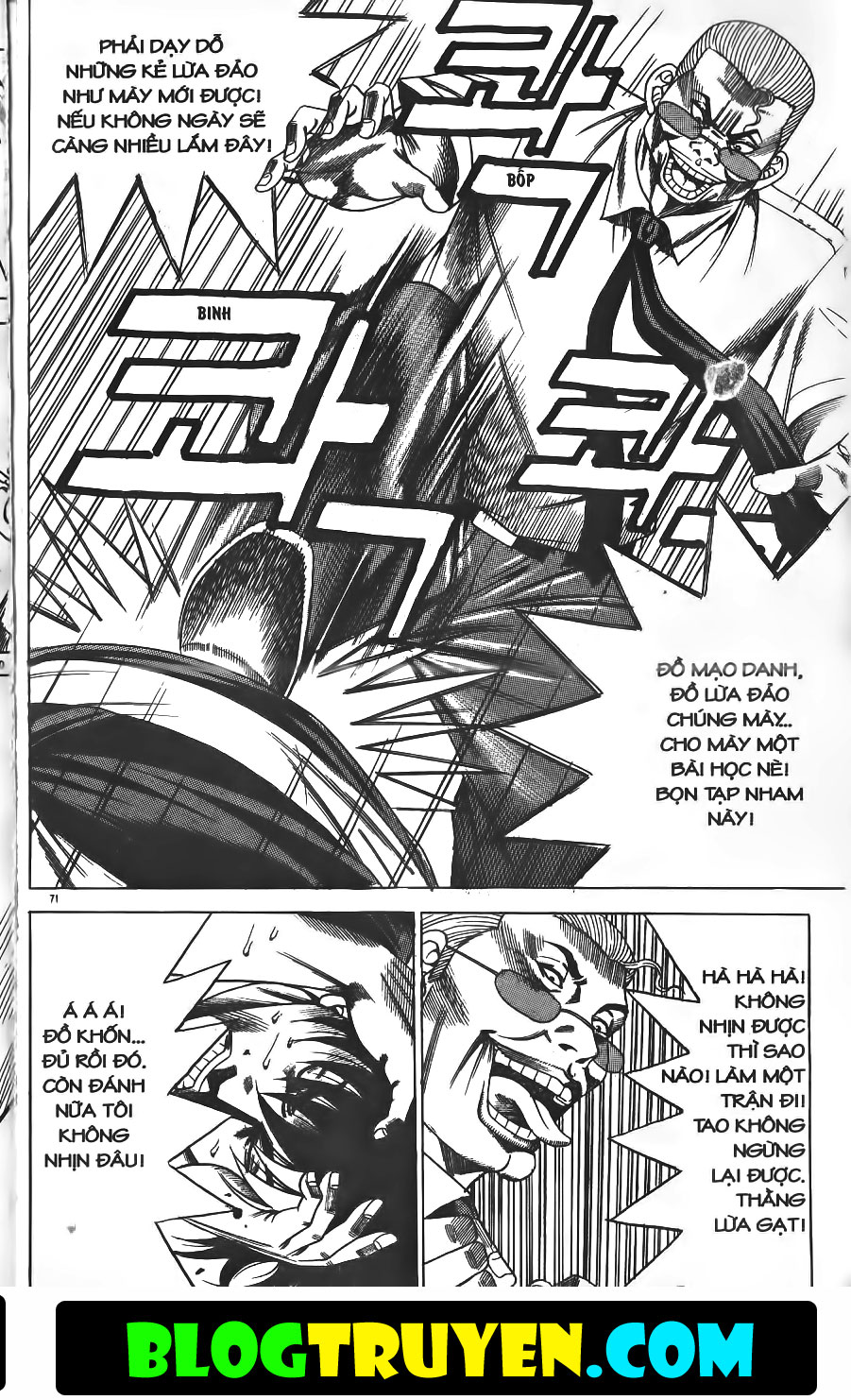Bitagi - Anh chàng ngổ ngáo chap 150 trang 23