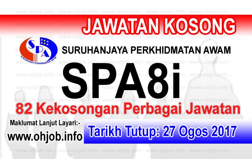 Jawatan Kerja Kosong Suruhanjaya Perkhidmatan Awam Malaysia - SPA logo www.ohjob.info ogos 2017