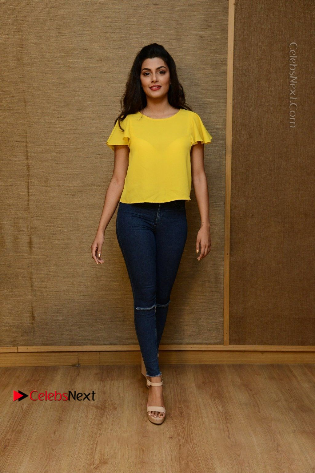 Actress Anisha Ambrose Latest Stills In Denim Jeans At Fashion Designer So Ladies Tailor Press Meet Com 0056 Anisha Ambrose Latest Stills In Denim Jeans At Fashion Designer S O Ladies Tailor