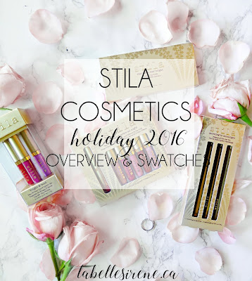 Shining Stars | Stila Cosmetics Transcendence Holiday 2016 Collection | Overview & Swatches | labellesirene.ca