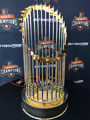 Astros World Series Trophy Tour