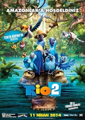 Rio 2 (2014) 1080p Film indir