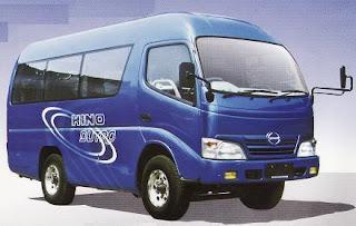 microbus bus hino 15 seat