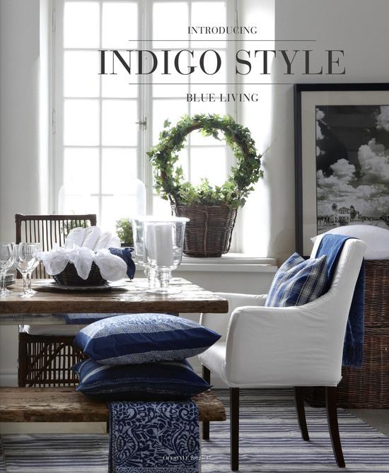Indigo- Blue Living