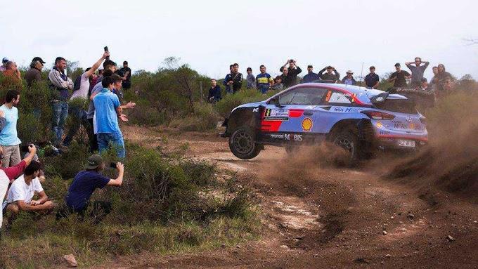 Un show vibrante: así se vivió el Súper Especial del Rally Argentina 2018