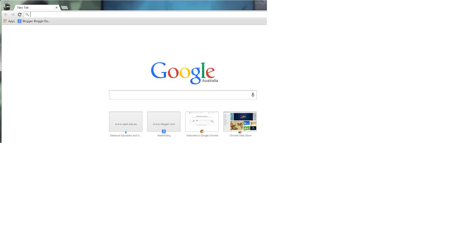 minusInfinite net: Chrome Update - New Tab Page