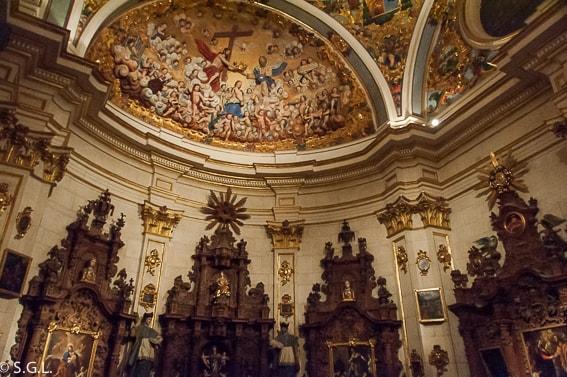 La sacristia Mayor en la catedral de Burgos
