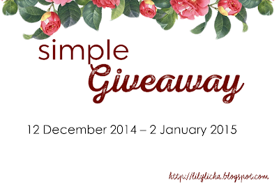 http://lilylicha.blogspot.com/2014/12/simple-giveaway-by-licha.html