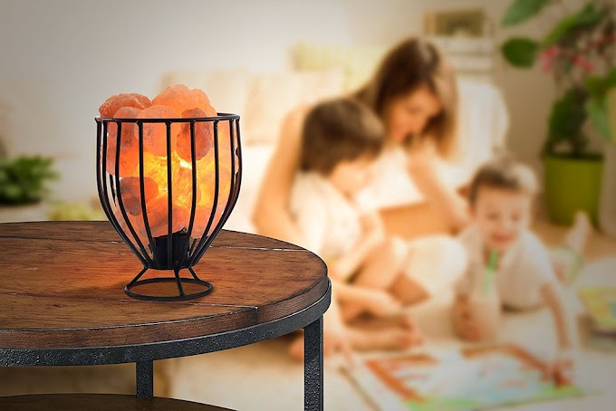 The Color Therapeutic Effects of Himalayan Salt Lamp on Eyes & Mind