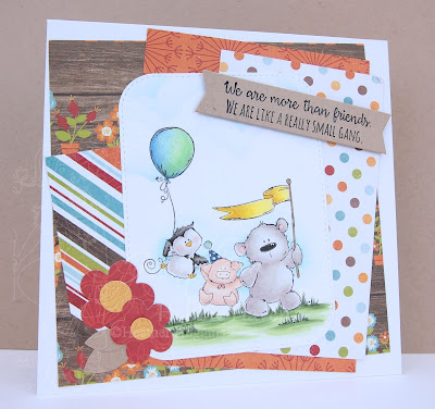 Heather's Hobbie Haven - The Stuffie Gang Card Kit