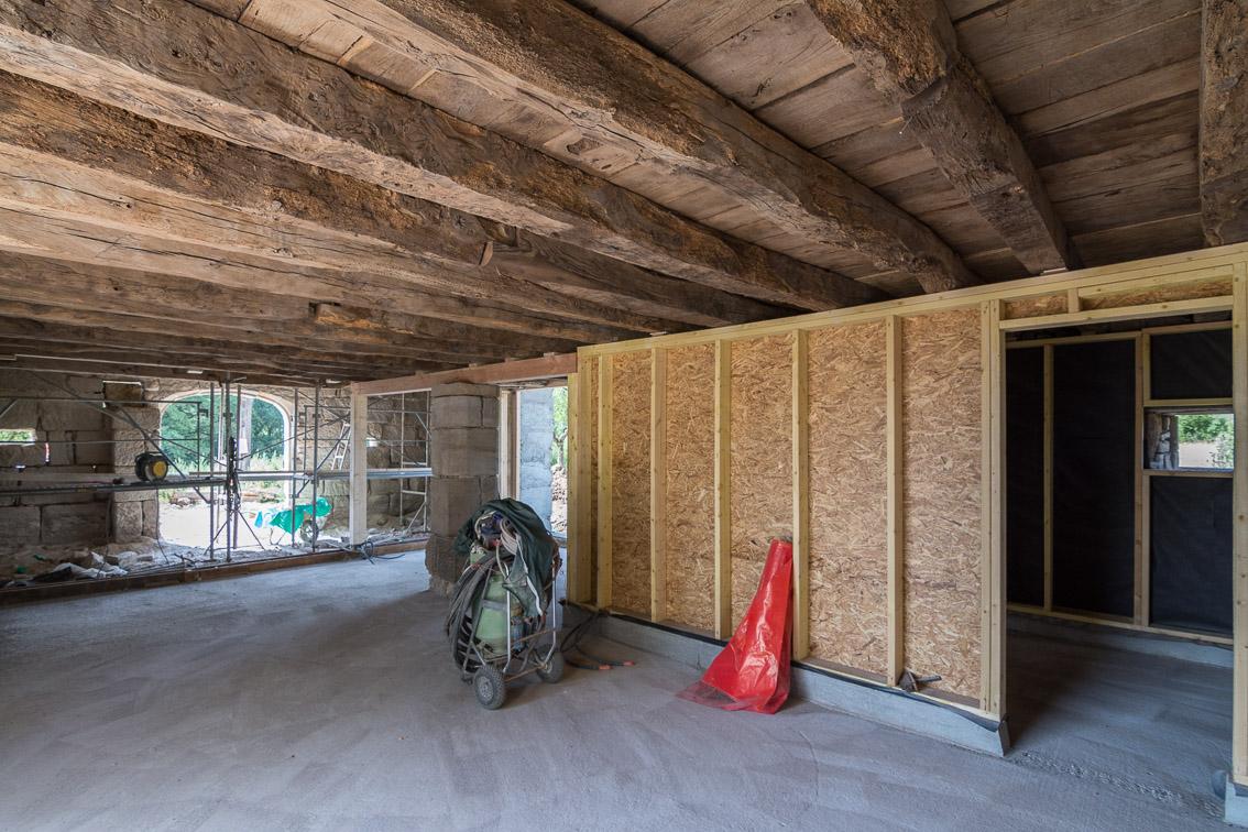 la maison d 39 apr s sablage. Black Bedroom Furniture Sets. Home Design Ideas