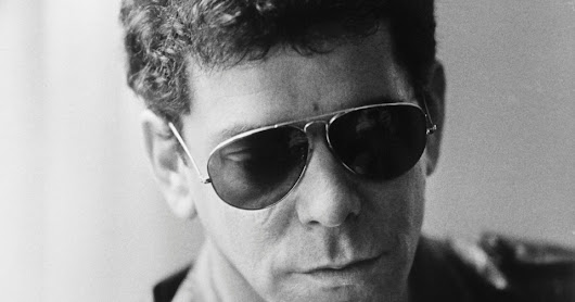 Lou Reed's poetry book, Jerry Lewis