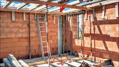 pilar construção civil