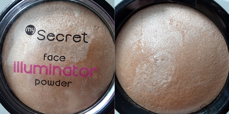 rozświetlacz My Secret Face Illuminator Powder Princess Dream