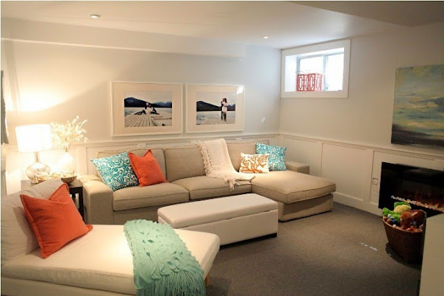 Basement Family Room Paint Color Ideas