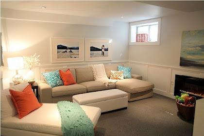 Basement Family Room Paint Color Ideas