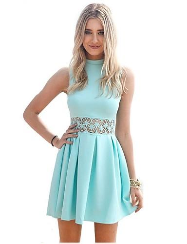 vestidos de moda con cuello