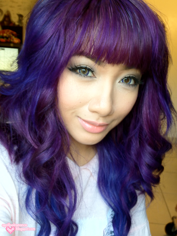 April Fool Romance: Purple Hair!