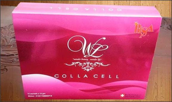 Colla Cell, Collagen Glutathion Stem Cell Pearl Powder