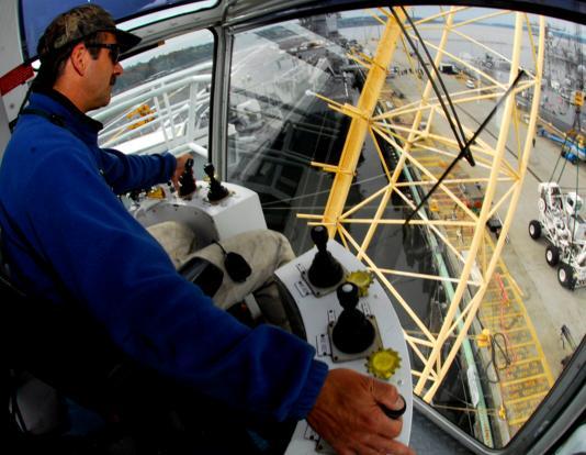 offshore vacancy as crane operator