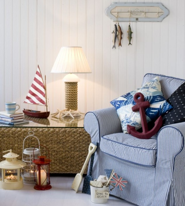 Home Design Ideas Blog: Nautical Home Decorating Ideas