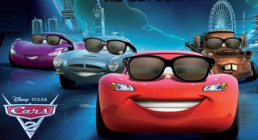 Cars 2 Film Kino Trailer