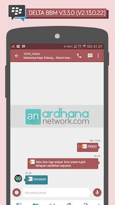 Delta BBM V3.3.0 - BBM MOD Android V2.13.0.22