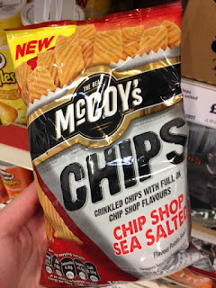 mccoys chips chip shop sea salted