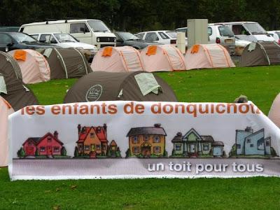 les enfants des don Quichotte - un toit pour tous