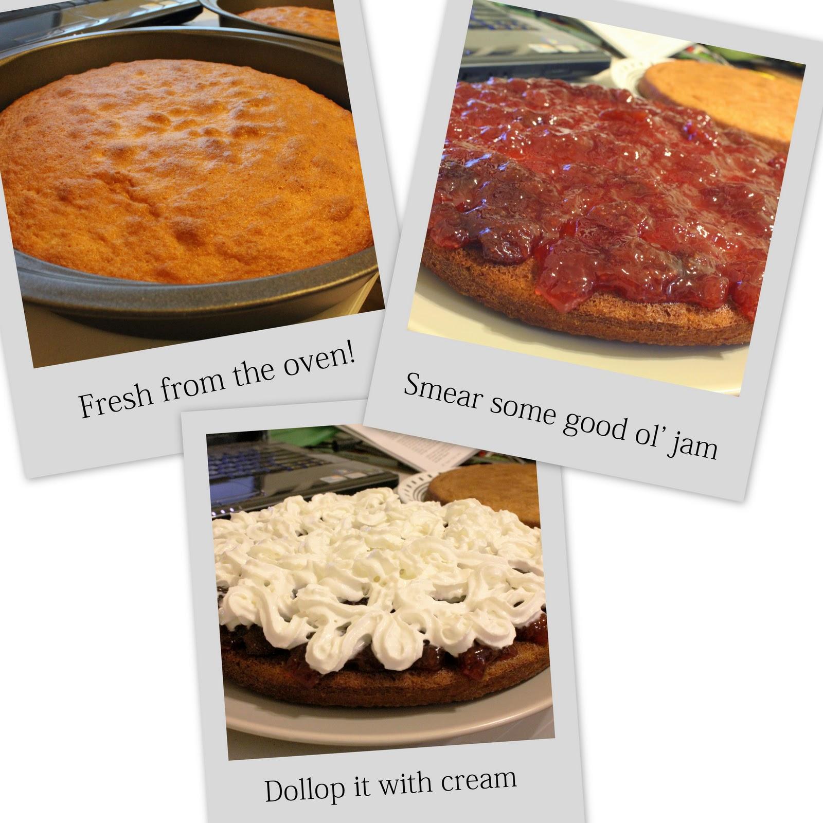 Lemon Victoria Sponge Cake Recipe Uk
