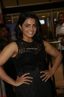 Wamiqa Gabbi in a sleeveless Black Designer Transparent Gown at 64th Jio Filmfare Awards South ~  Exclusive 131.JPG