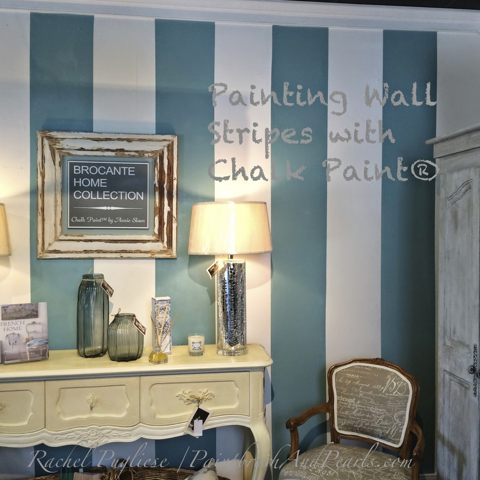 brocante home collection s paintbrush and pearls tips Annie Sloan Chalk Paint Furniture Chalk Paint Colors for Furniture