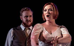 Stanford: The Travelling Companion - Julien Van Mellaerts, Kate Valentine- New Sussex Opera (Photo Robert Knights/New Sussex Opera)