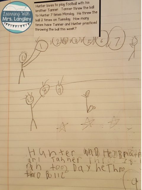 What should I expect in math journals?  How do students show what they know?