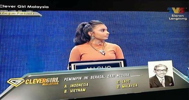 Peserta Rancangan Clever Girl Malaysia 2017 Buat Hal Lagi