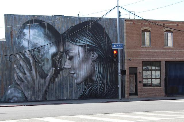 Downtown LA Graffiti Mural