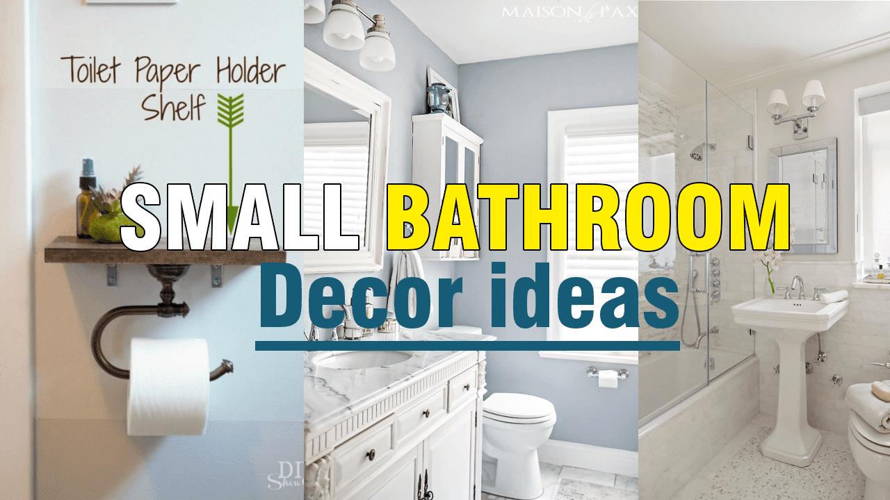 Small Bathroom Decor Ideas via simphome.com