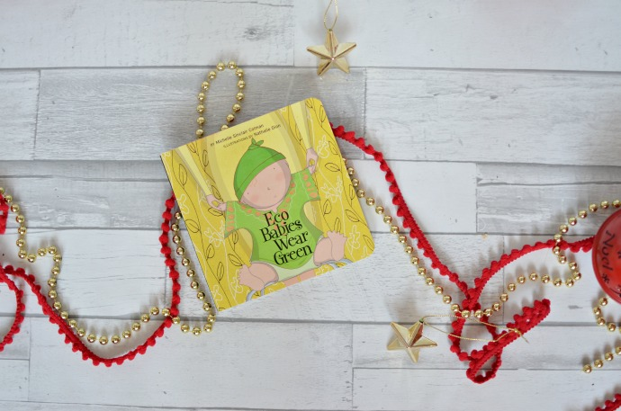 Christmas Gift Guide for a Two year old -Eco baby book
