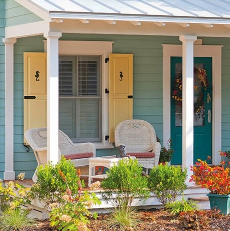 Decorative Coastal Window Shutters For Curb Appeal