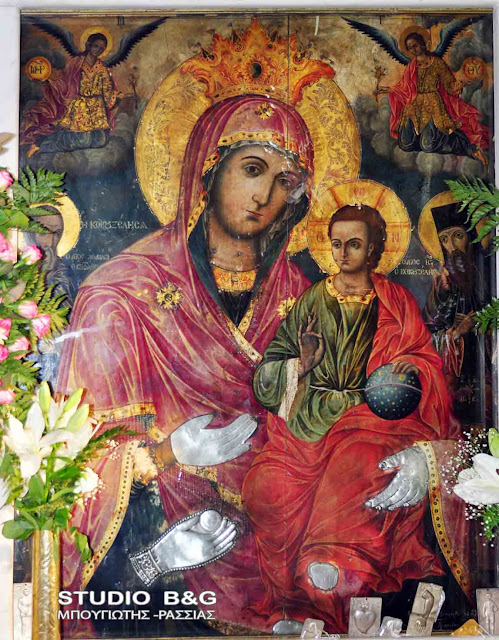 Από τη Νέα Κίο στην Ιτέα  θα μεταφερθεί για προσκύνηση η θαυματουργή εικόνα της Παναγίας της Τριχερούσας
