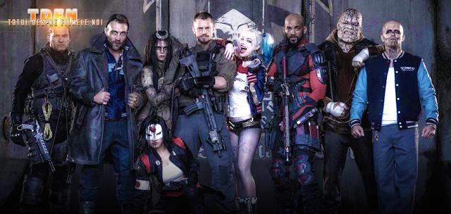 Prima imagine oficială cu Echipa Sinucigaşilor: Suicide Squad