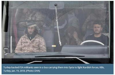 οι στρατιωτικές επιχειρήσεις της Τουρκίας, στην Αφρίν