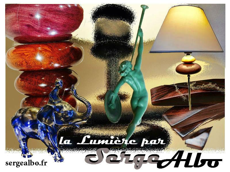 Serge Albo Creation de Lampes