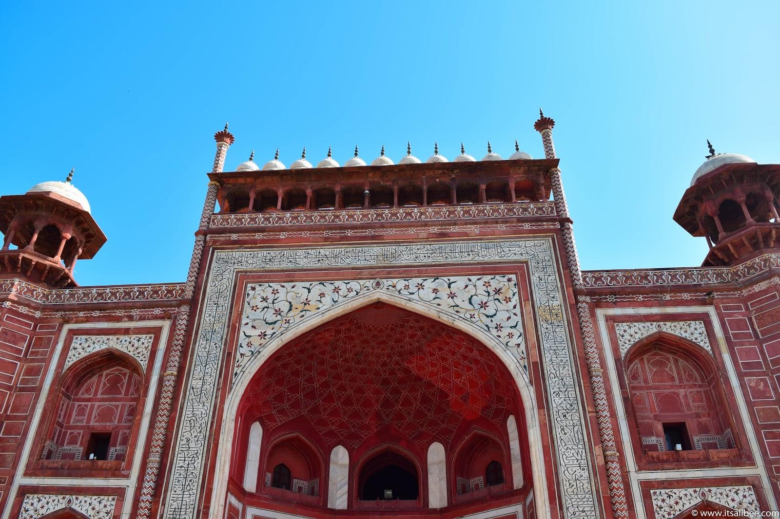 Taj Mahal - Agra - India. Photo by Bianca - www.itsallbee.com