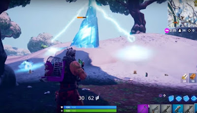 Ice Storm Challenge, Day Four Event, Destroy Ice Shards, Fortnite