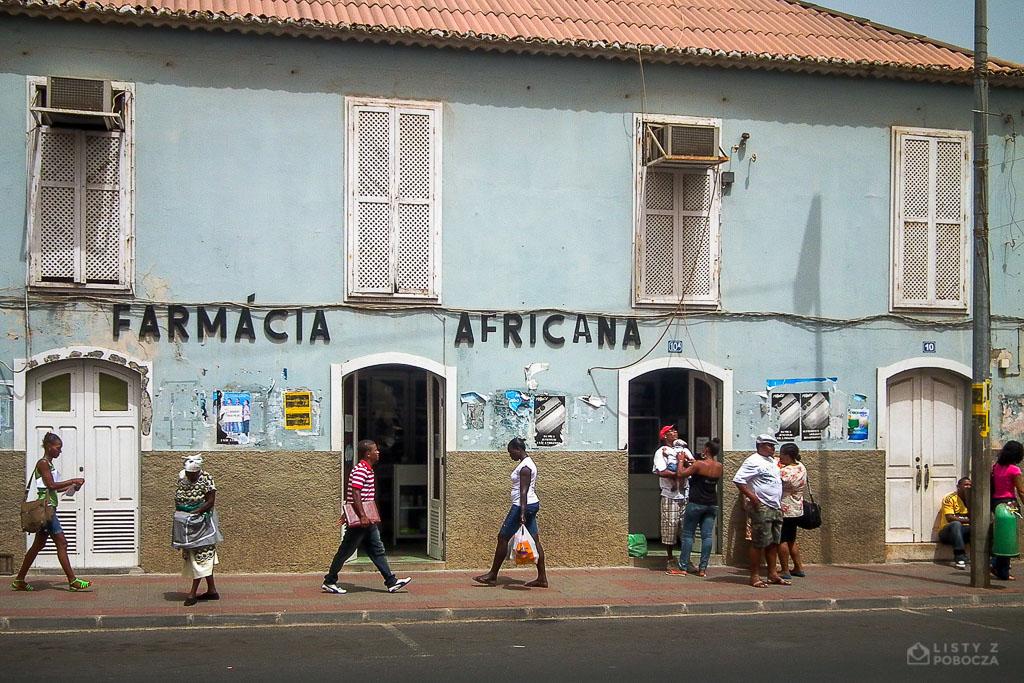 Apteka w stolicy Praia Wyspy Zielonego Przylądka