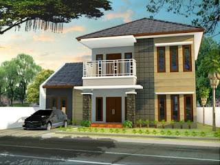Tampak Depan Rumah Minimalis Modern Terbaru 2017