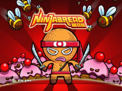 麵包忍者(Ninjabread Man),細膩可愛的全3D動作遊戲!