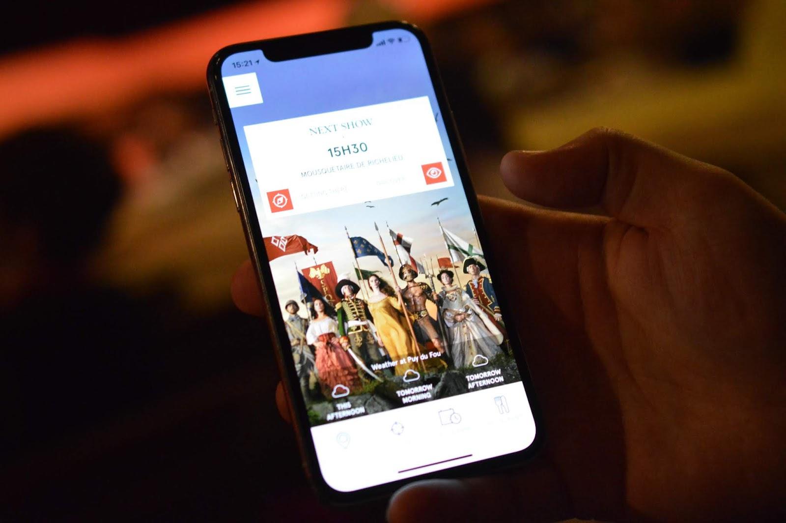 Puy du Fou Theme Park, France - - puy du fou mobile app